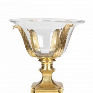 Brass Stand & Bowl