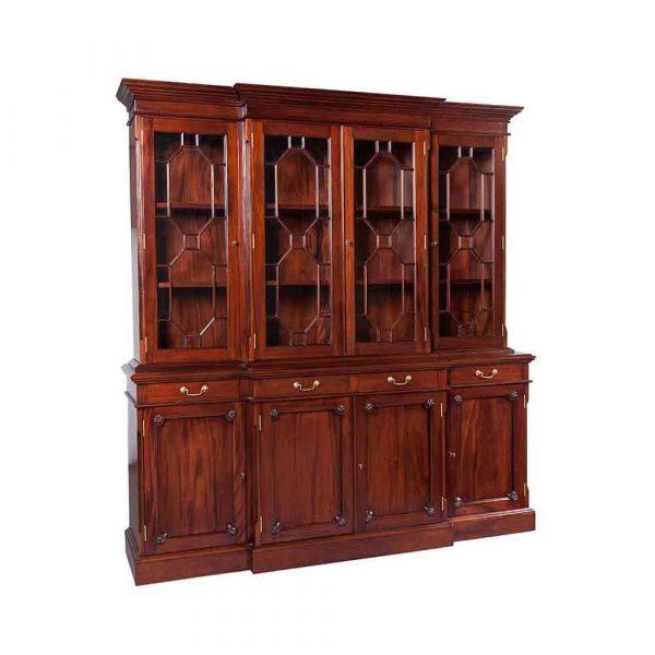 4 Door Regency Bookcase Available in 2 Door