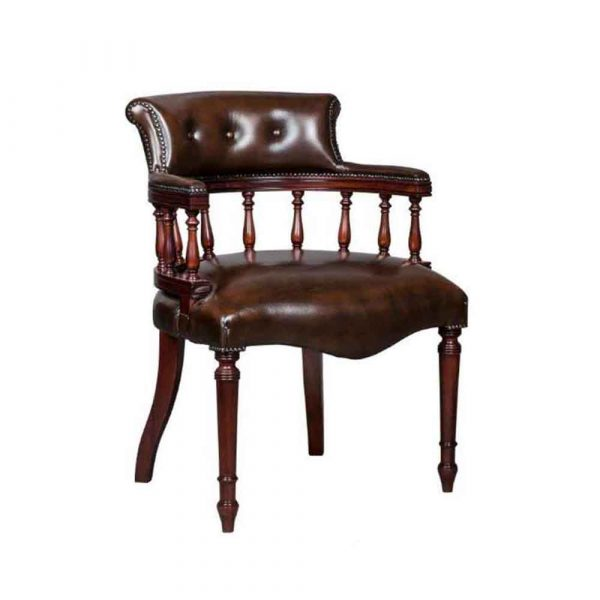 Captains Chair Available in a tilt and swivel Solid mahogany chair. Dimensions 0