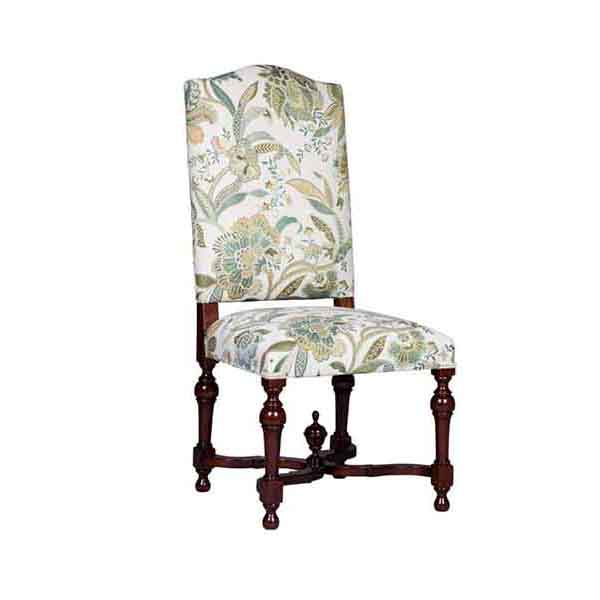 French Stretcher Side Chair