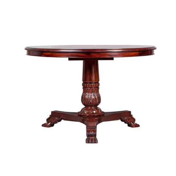 Pineapple Lions Paw circular Table