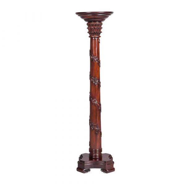 Regency Vine Carved Torchere